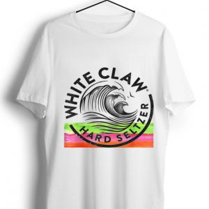 Hot White Claw Drinking Beer Hard Seltzer shirt