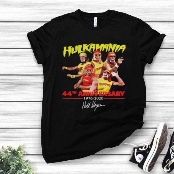 Hulkamania 44th Anniversary 1976-2020 Signature shirt