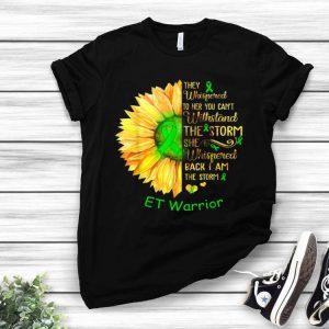 I Am The Storm ET Warrior Cancer Awareness shirt