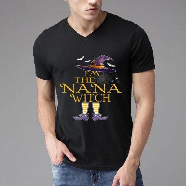 I'm The Nana Witch Group Matching Halloween Costume shirt