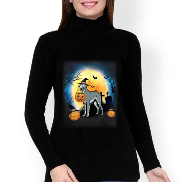 Irish Wolfhound And Pumpkin Halloween shirt