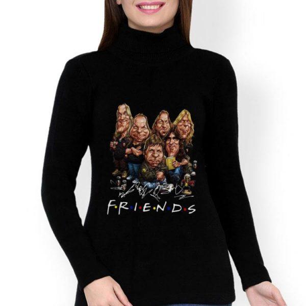 Iron Maiden Cartoon Rockers Friends Signature shirt