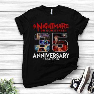 Jason Voorhees 35 Years Anniversary A Nightmare On Elm Street shirt