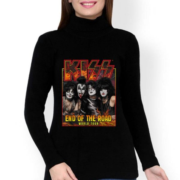 Kiss End Of The Road World Tour shirt