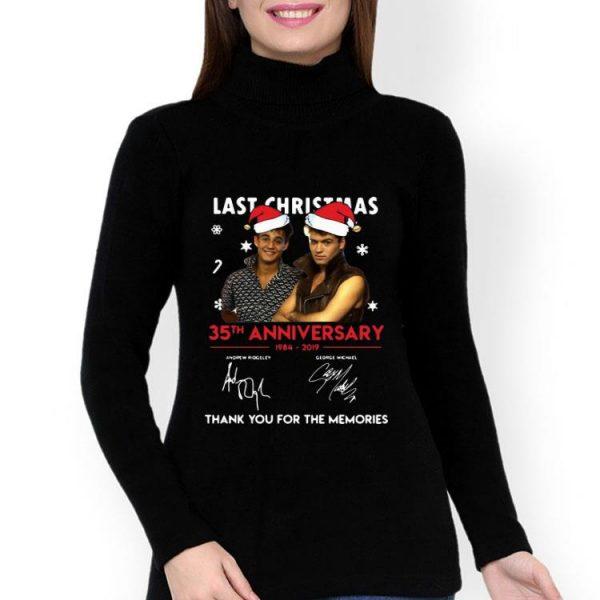 Last Christmas 35th Anniversary 1984-2019 Wham! Signature shirt