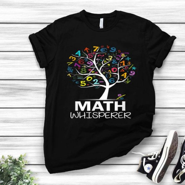 Math Whisperer Teacher's Day Math Tree shirt