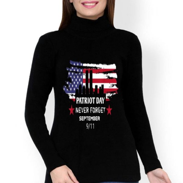 Never Forget Patriotic Day 911 American Flag shirt