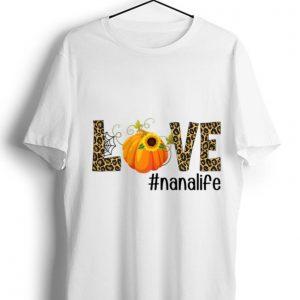 Official Fall Y'all Love Nanalife Pumpkin Sunflower shirt