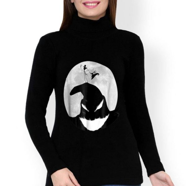 Oogie Boogie Moon Halloween Disney Nightmare Before Christmas shirt