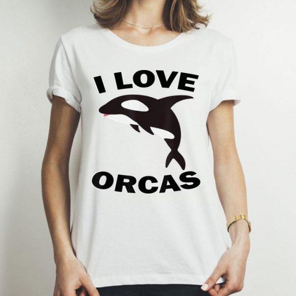 Orcas Rescue I Love Orcas Killer Whale shirt