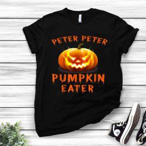 Peter Peter Pumpkin Eater Halloween Costume shirt