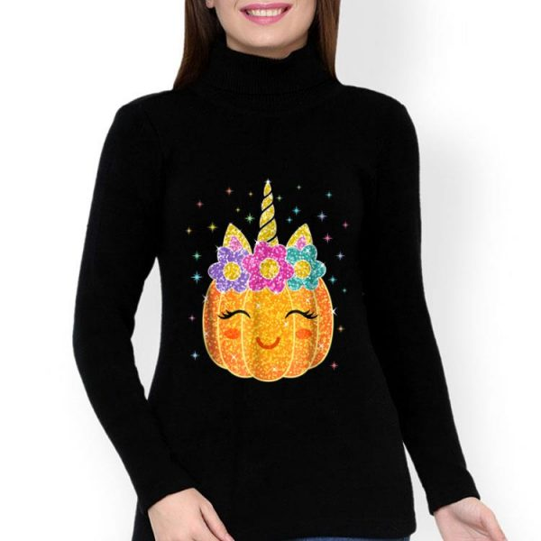 Pumpcorn - Unicorn Pumpkin Halloween Costume shirt