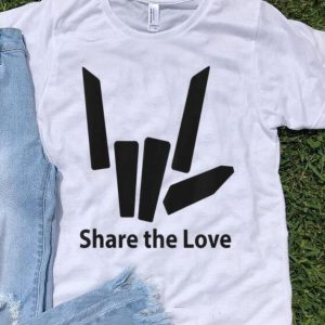 Share The Love Cute Fingers shirt