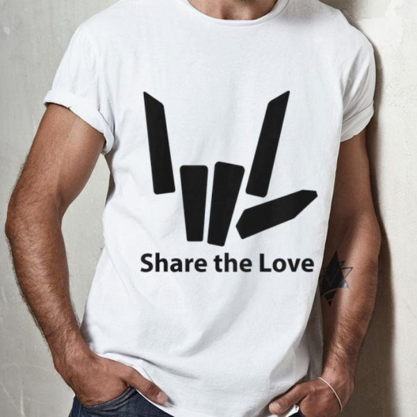 Share The Love Cute Fingers shirt