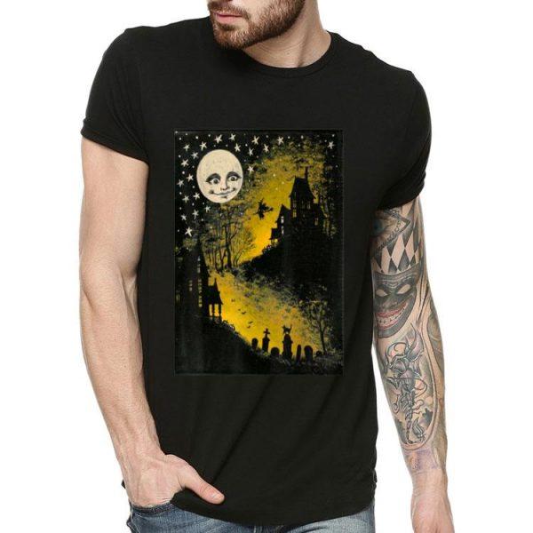 Sweet N' Spooky Vintage Halloween Moon shirt