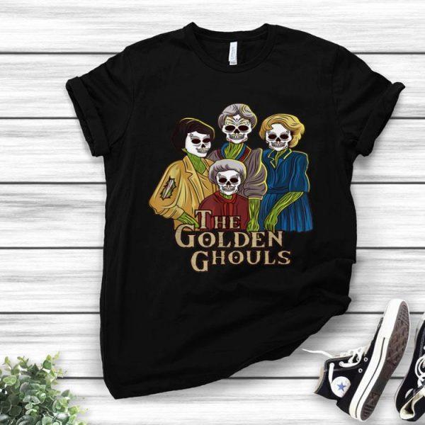 The Golden Ghouls Halloween Golden Sisters shirt