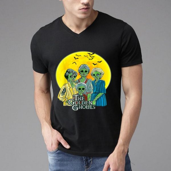 The Golden Ghouls Halloween Horror Witch shirt