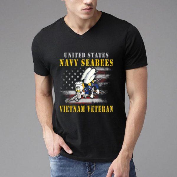 United States Navy Seebees Vietnam Veteran shirt