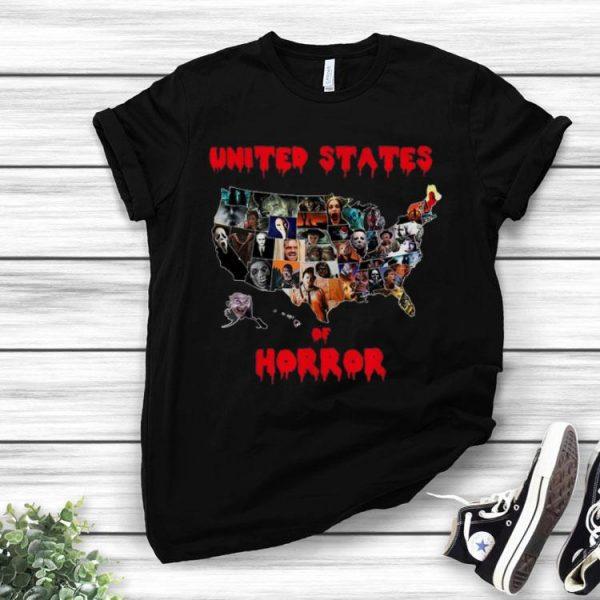 United States Of Horror Halloween shirt