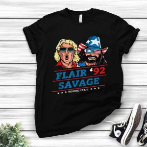 Vintage Flair '92 Savage Woo Yeah shirt