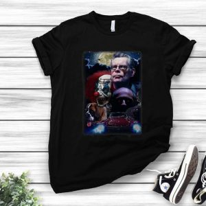 Stephen King All Horror Movies Character shirt