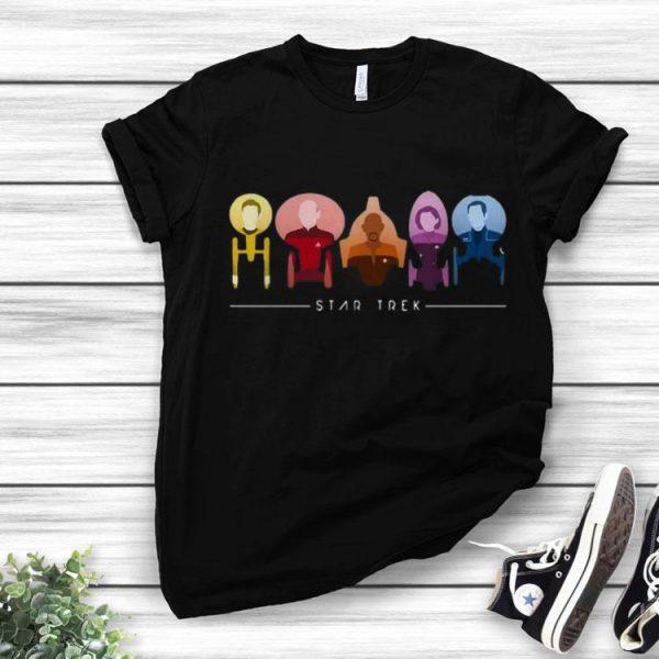 Star Trek Starfleet Captains shirt