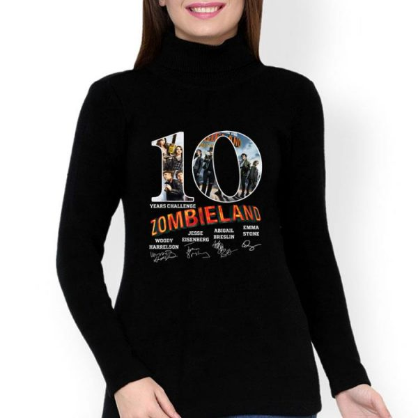 10 Years Challenge Zombieland Signatures shirt