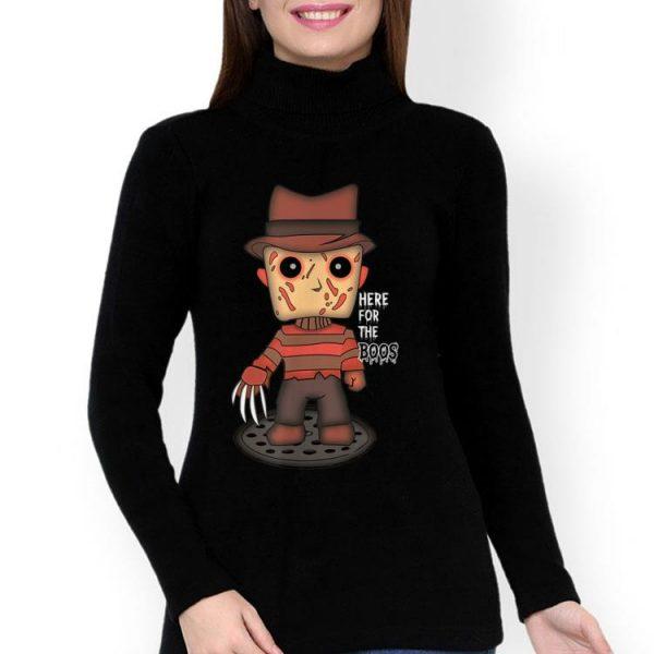 Freddy Krueger Here For The Boos Halloween shirt