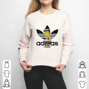Adidas Bart Simpson shirt