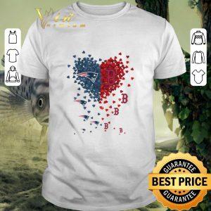 Best I love New England Patriots Boston Red Sox shirt