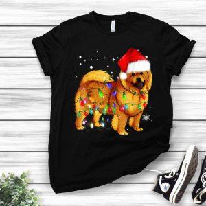 Chow Chow Dog Santa Christmas Lights shirt