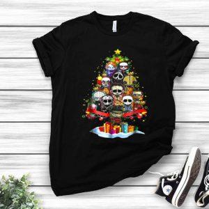 Christmas Tree Horror Character Merry Christmas shirt
