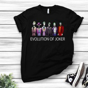 Evolution of Joker shirt