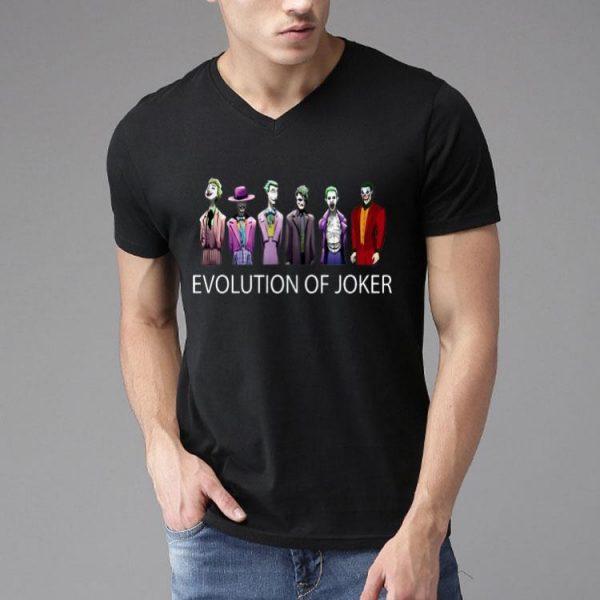 Evolution of Joker shirt