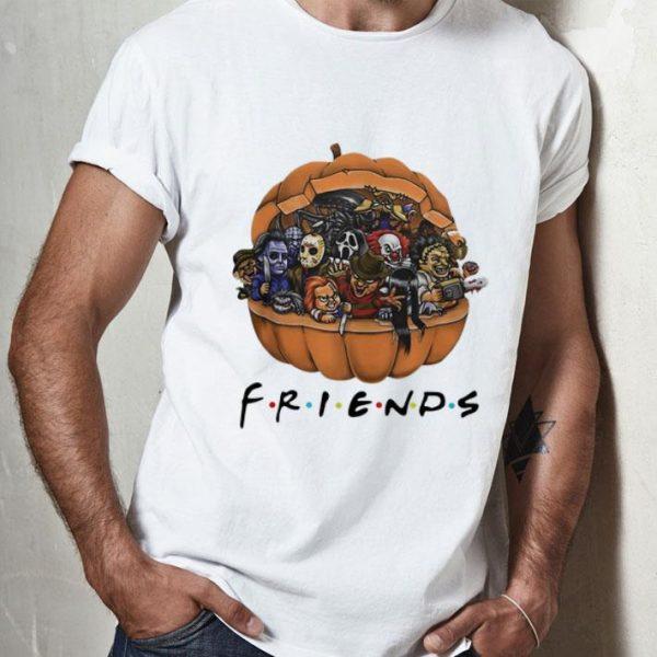 Friends Horror Characters Chibi In Pumpkin shirt
