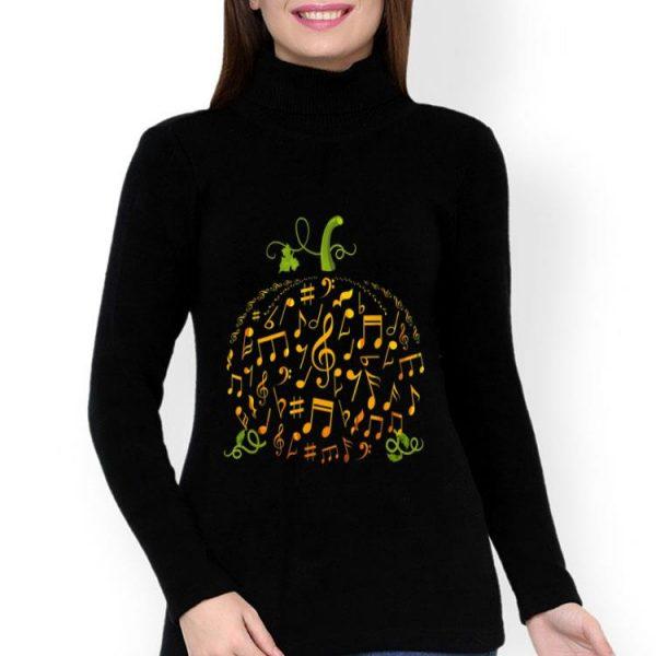 Halloween Music Note Pumpkin shirt