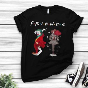 Joker And Pennywise Friends TV Show shirt