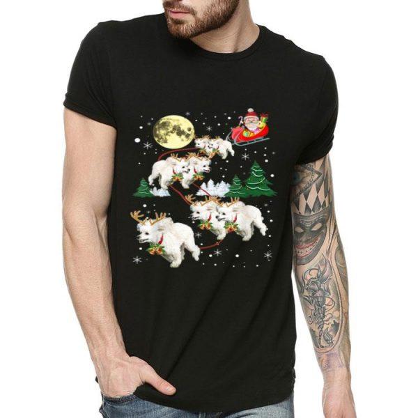 Merry Xmas Poodles Reindeer Christmas Dog Lovers shirt