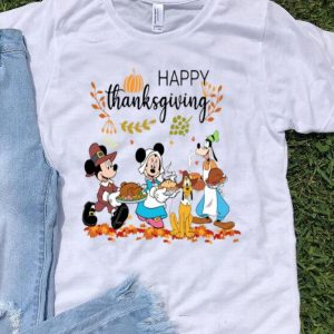 Mickey Mouse Happy Thanksgiving Walt Disney shirt