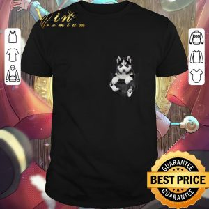 Original Husky in tiny pocket shirt