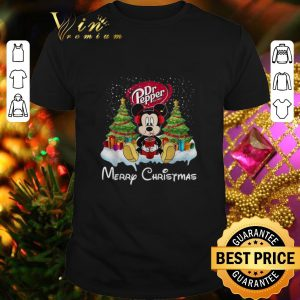 Premium Mickey Mouse drink Dr Pepper Merry Christmas shirt