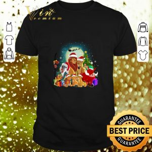 Premium The Lion King Characters Christmas shirt