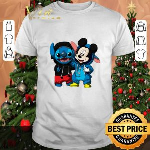 Pretty Baby Mickey and Stitch shirt