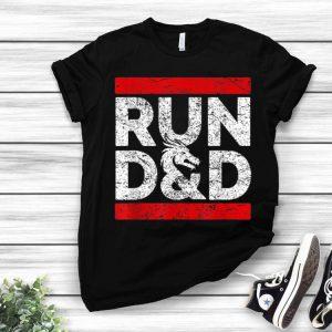 RPG Wear D20 Dungeons Game Run D&D shirt