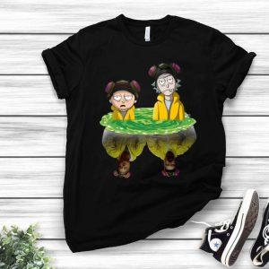 Rick And Morty Breaking Bad Water Reflection shirt