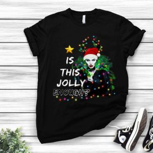 Santa Maleficent Is This Jolly Enough Christmas shirt