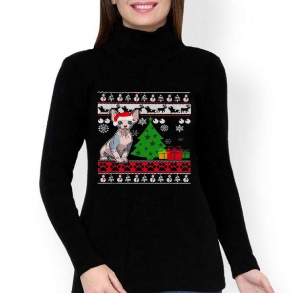 Sphynx Cat Christmas Ugly Christmas shirt