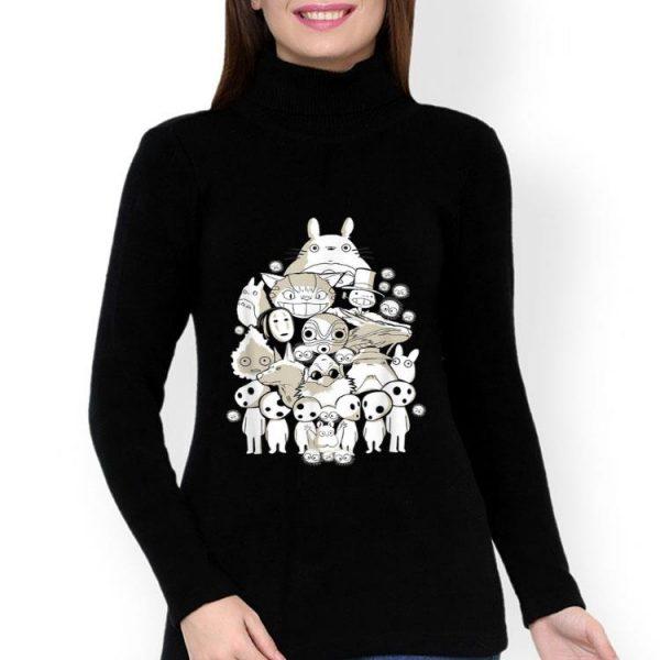 Spirited Cute Anime Spirited Away Totoro shirt