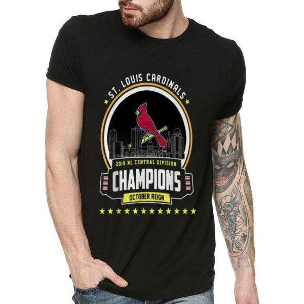 St. Louis Cardinals 2019 NL Central Division Champions shirt