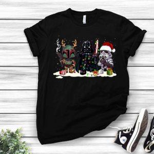 Star Wars Merry Christmas Santa Hat shirt